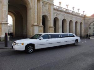 Location Limousine Voiture Chauffeur Lorraine Nancy Lincoln Blanche